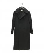 HYKE(ハイク)の古着「ロングPコート」|ブラック
