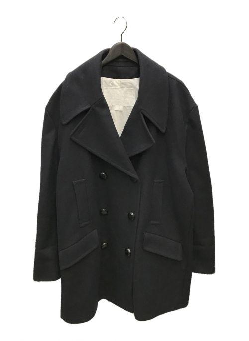 Martin Margiela×H&M(マルタン マルジェラ×エイチアンドエム)Martin Margiela×H&M (マルタン マルジェラ×エイチアンドエム) オーバーサイズダブルコート ブラック サイズ:ONE SIZEの古着・服飾アイテム