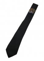 GUCCI(グッチ)の古着「タイガーアンダーノットシルクタイ」|ブラック