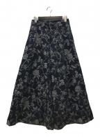 KEITA MARUYAMA(ケイタマルヤマ)の古着「ワイドパンツ」 インディゴ
