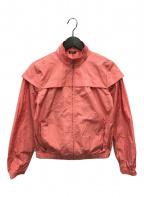 JIL SANDER NAVY(ジルサンダー ネイビー)の古着「ナイロンジャケット」 ピンク