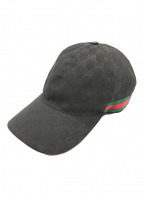 GUCCI(グッチ)の古着「GGキャンバスキャップ」|ブラック