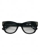 ()の古着「伊達眼鏡」 ブラック