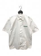 JIL SANDER(ジルサンダー)の古着「ショートスリーブシャツ」|ホワイト