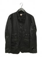 ()の古着「シャツジャケット」 ブラック