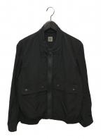 BEST PACK(ベストパック)の古着「Rayon Travel Blouson」 ブラック