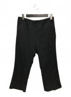 Needles(ニードルス)の古着「W.U. Boot-Cut Pant - Pe/W Does」|ブラック