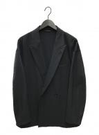 ()の古着「ライクツイルテーラードジャケット」|ブラック