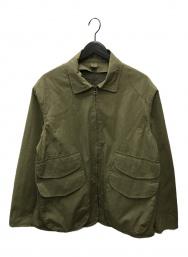 copano86 (コパノ) ジップアップミリタリージャケット オリーブ サイズ:48