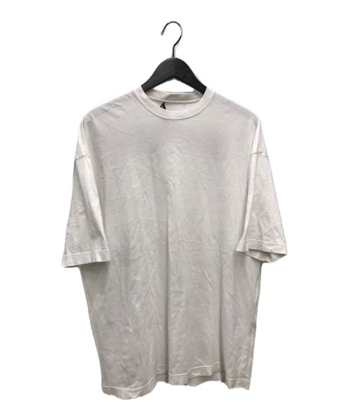 BALENCIAGA(バレンシアガ)BALENCIAGA (バレンシアガ) TATOO BACK LOGO TEE ホワイト サイズ:XSの古着・服飾アイテム