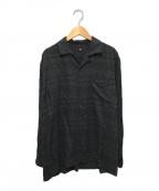 KAPTAIN SUNSHINE(キャプテンサンシャイン)の古着「Open Collar L/S Shirt」|グレー