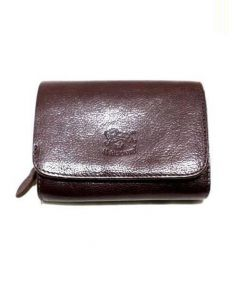 IL BISONTE(イルビゾンテ)の古着「2つ折り財布」 ブラウン