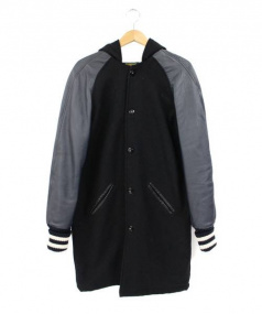 SKOOKUM(スクーカム)の古着「フーデッドアワードコート」|ブラック