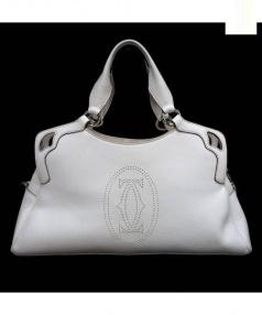 Cartier(カルティエ)の古着「2WAYバッグ」 ホワイト