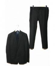 ato(アトウ)の古着「2Bスーツ」|ブラック