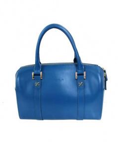 agnes b voyage(アニエスベーボヤージュ)の古着「2wayミニボストンバッグ」|ブルー