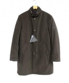 Montecore(モンテコーレ)の古着「中綿ライナー付コート」|ブラウン