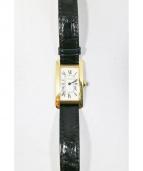 Cartier(カルティエ)の古着「TANK AMERICAN/腕時計」|ホワイト