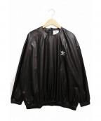 adidas×HYKE(アディダス×ハイク)の古着「ウインドブレーカー」|ブラック