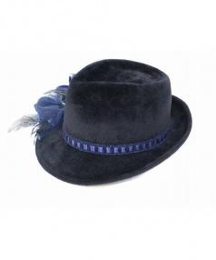 Hat by C(ハットバイシー)の古着「ショートブリムハット」|ブラック