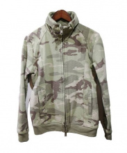 AKM(エーケーエム)の古着「ソリッドスタンドトラックジャケット」 サージカモ
