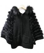 EPOCA THE SHOP(エポカ ザ ショップ)の古着「パーカー」 ブラック
