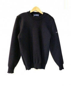 SAINT JAMES(セントジェームス)の古着「マリン セーター」|ネイビー