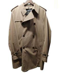 UNITED ARROWS(ユナイテッド アローズ)の古着「ショートダブルトレンチコート」|ベージュ