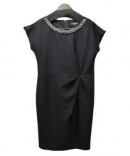 LAUTRE AMONT BLACK(ロートレアモンブラック)の古着「ジプシーシャンタンワンピース」|ブラック