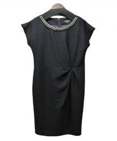 LAUTRE AMONT BLACK(ロートレアモンブラック)の古着「ジプシーシャンタンワンピース」 ブラック