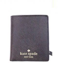 Kate Spade(ケイトスペード)の古着「2つ折り財布」|ブラック