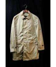 MONCLER(モンクレール)の古着「DUMOULIE/ダウンライナー付コート」|ベージュ