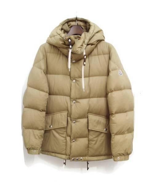 MONCLER(モンクレール)MONCLER (モンクレール) パデットダウンジャケット ベージュの古着・服飾アイテム