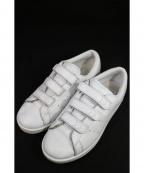 adidas×HYKE(アディダス×ハイク)の古着「HAILLET/ベルクロスニーカー」|ホワイト