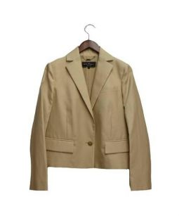 Salvatore Ferragamo(サルヴァトーレ フェラガモ)の古着「テーラードジャケット」 ベージュ