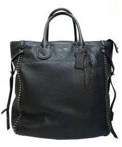 COACH(コーチ)の古着「トールテータムトートバッグ」|ブラック