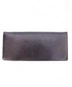 cocomeister(ココマイスター)の古着「2つ折り長財布」|オールドブラック