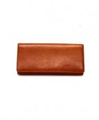 cocomeister(ココマイスター)の古着「2つ折り長財布」|ブランデー