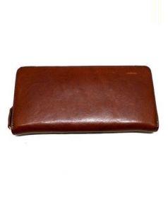 COCOMEISTER(ココマイスター)の古着「ラウンドファスナー財布」|ブランデー