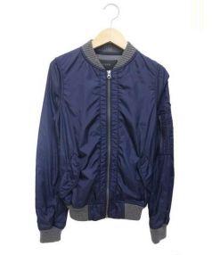 J.CREW(ジェイ クルー)の古着「MA-1ジャケット」|ネイビー