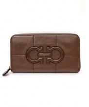 Salvatore Ferragamo(サルヴァトーレ フェラガモ)の古着「長財布」|ブラウン
