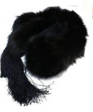 Christian Dior(クリスチャン ディオール)の古着「フォックスファーマフラー」|ブラック