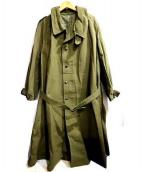 French Army(フレンチアーミー)の古着「モーターサイクルコート」|オリーブ