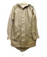 SQUOVAL(スクオーバル)の古着「ベンタイルモッズコート」|ベージュ