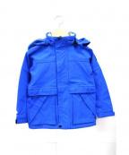 BURBERRY CHILDREN(バーバリー チルドレン)の古着「マウンテンパーカー」 ブルー
