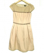 TOCCA(トッカ)の古着「POEMEドレス」|ベージュ