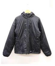 Patagonia(パタゴニア)の古着「マイクロパフフードジャケット」 ブラック