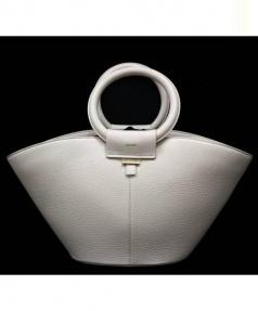 BELLMER(ベルメール)の古着「ハンドルバッグ」|オフホワイト