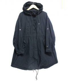 TATRAS(タトラス)の古着「ナイロンモッズコート」|ブラック