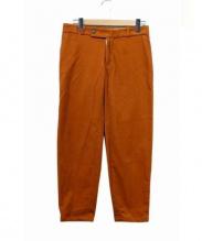 Edwina Horl(エドウィナホール)の古着「コーデュロイストレートパンツ」|オレンジ